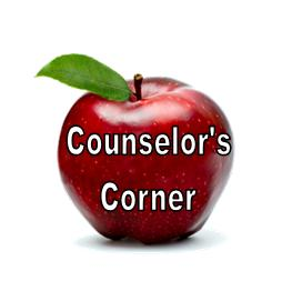 Counselor's Corner October Edition